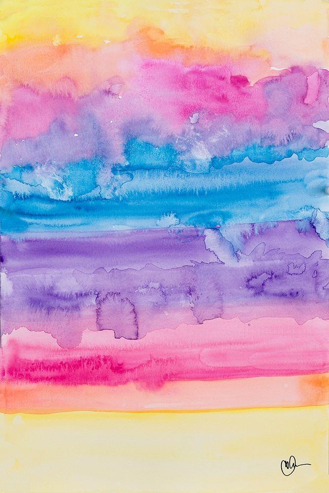 konfigurieren des Kunstdrucks in Wunschgröße Color Party I von Papa, Kat