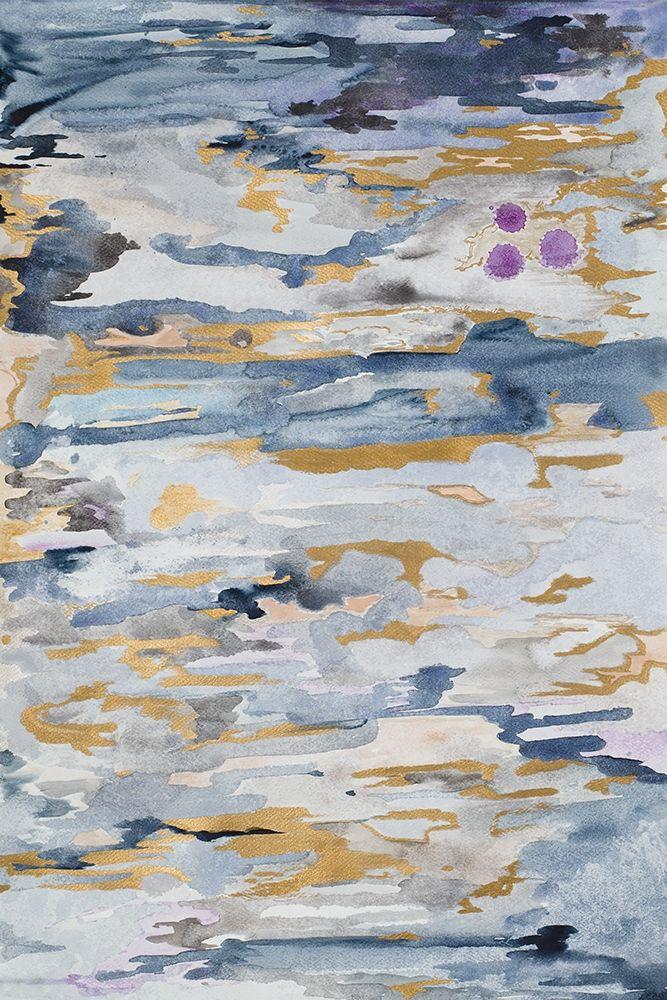 konfigurieren des Kunstdrucks in Wunschgröße Blue Infinity von James, Nola
