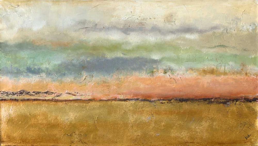konfigurieren des Kunstdrucks in Wunschgröße Sunset In The Cornfield von Pinto, Patricia