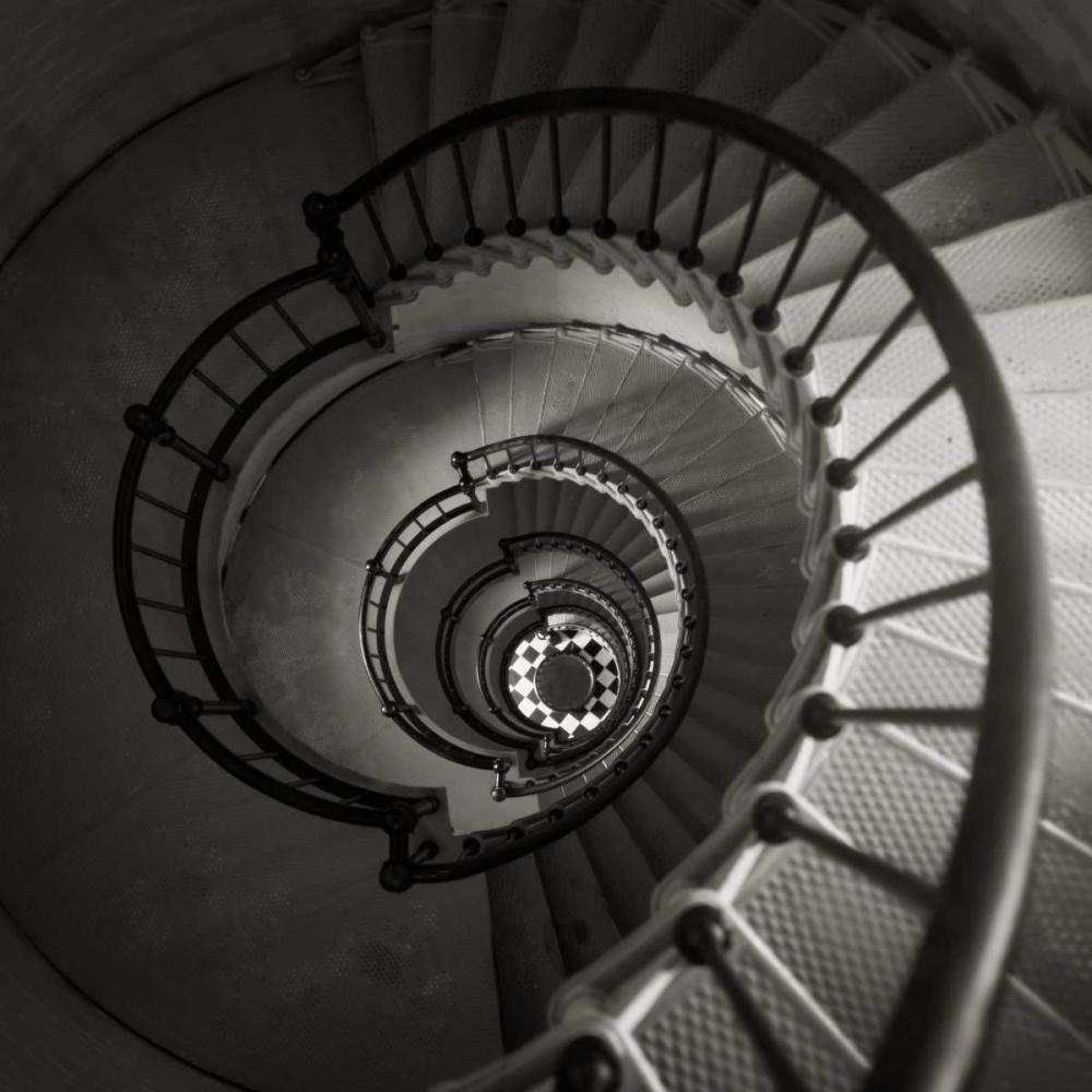 konfigurieren des Kunstdrucks in Wunschgröße Lighthouse Staircase von Peck, Gail
