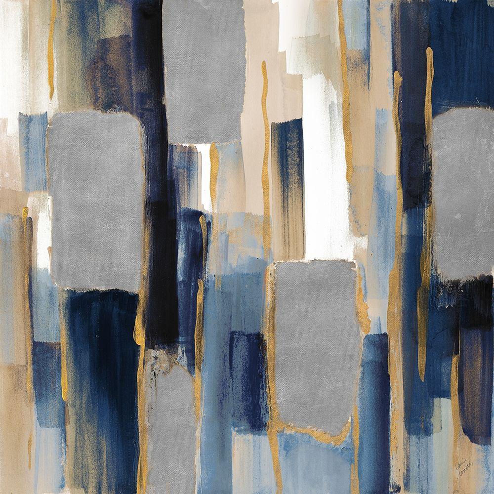 konfigurieren des Kunstdrucks in Wunschgröße Indigo Woodlands I von Loreth, Lanie
