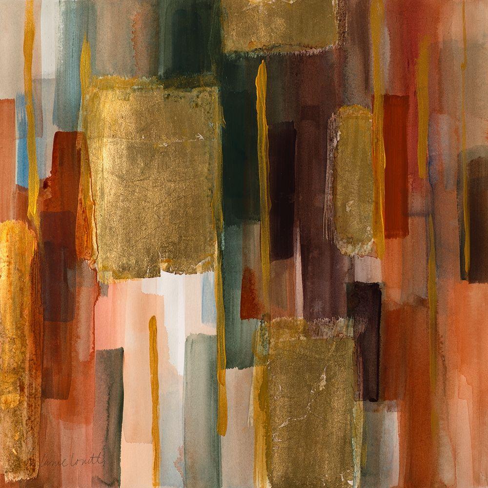 konfigurieren des Kunstdrucks in Wunschgröße Woodlands II von Loreth, Lanie