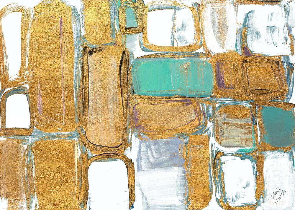konfigurieren des Kunstdrucks in Wunschgröße Gold Standing Imitation II von Loreth, Lanie
