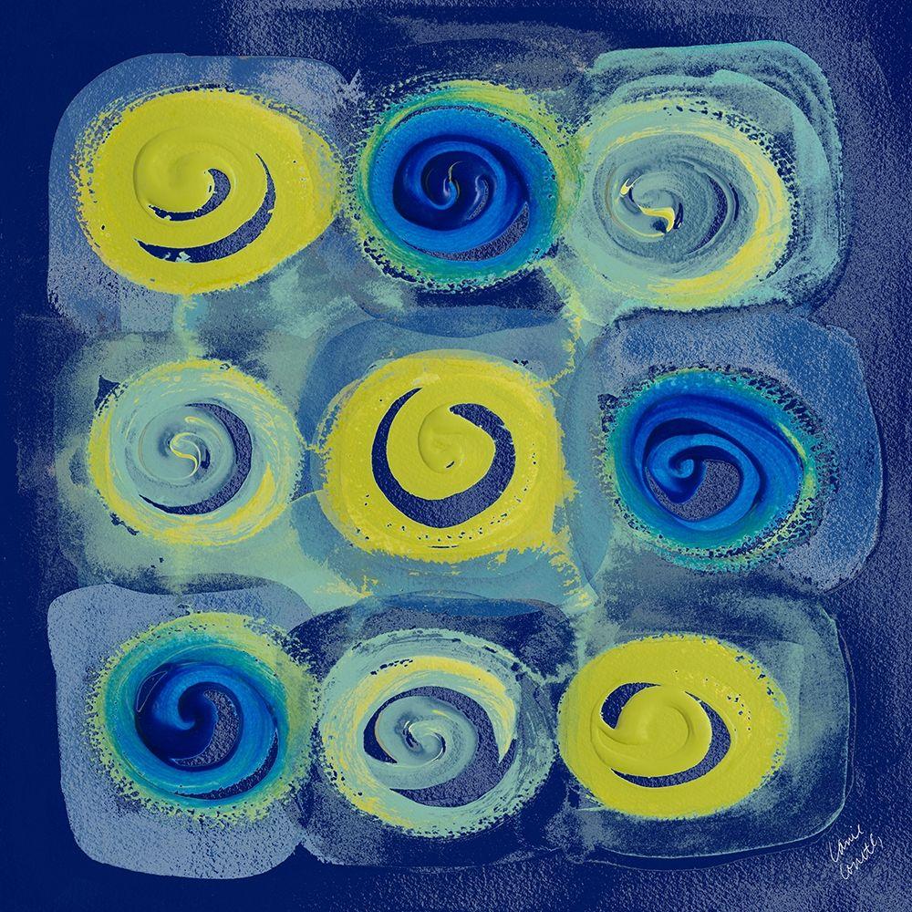 konfigurieren des Kunstdrucks in Wunschgröße Indigo Modern Joy I von Loreth, Lanie