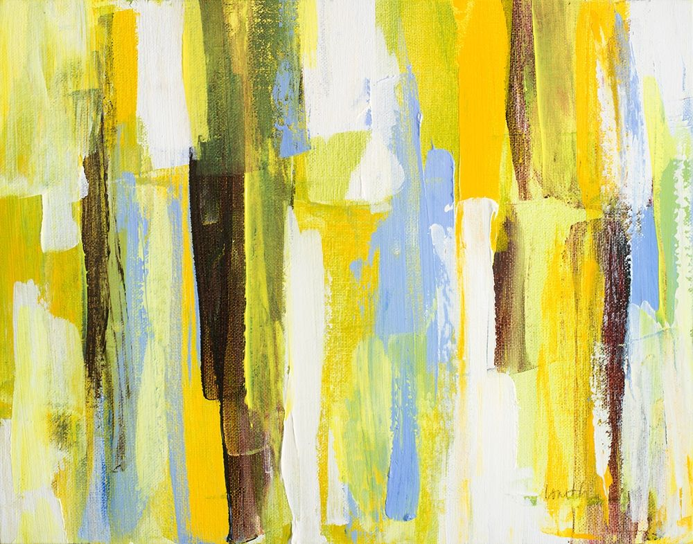 konfigurieren des Kunstdrucks in Wunschgröße Garden Abstract I von Loreth, Lanie