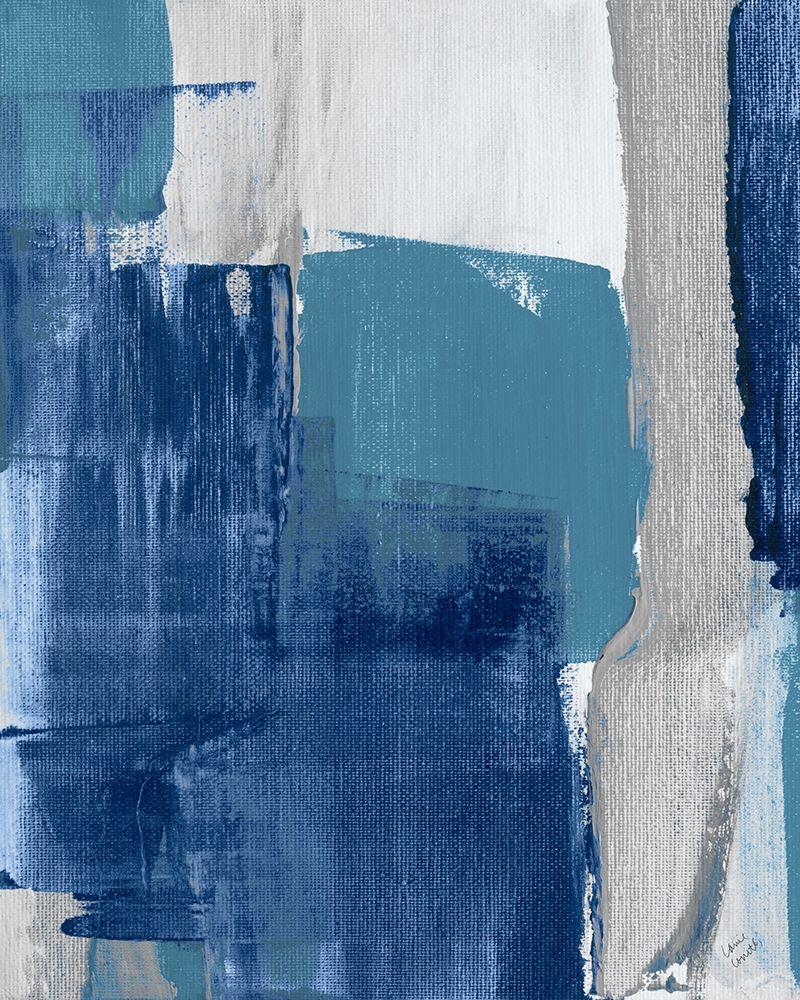 konfigurieren des Kunstdrucks in Wunschgröße Blue Perspectives III von Loreth, Lanie