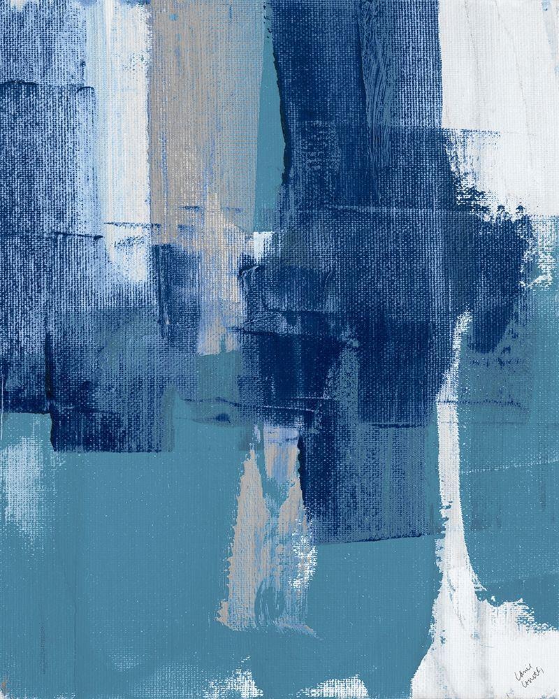 konfigurieren des Kunstdrucks in Wunschgröße Blue Perspectives IV von Loreth, Lanie