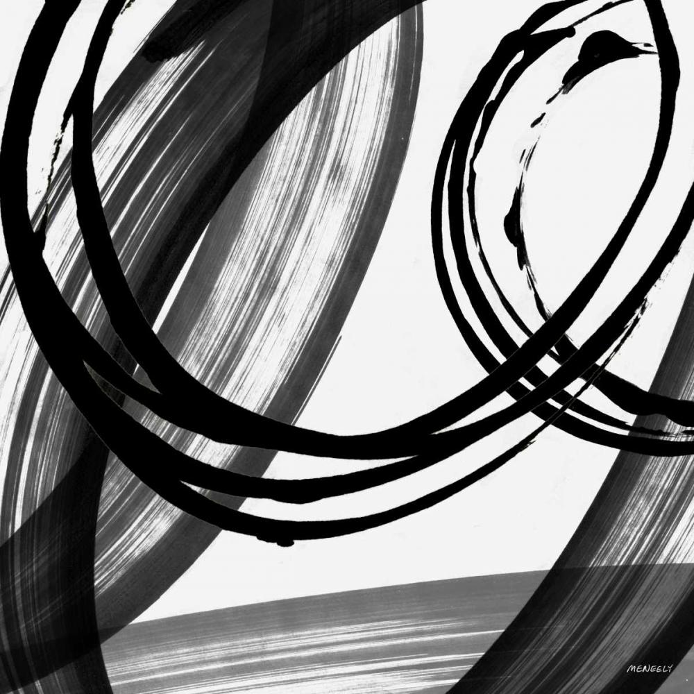 konfigurieren des Kunstdrucks in Wunschgröße Black and White Pop I von Meneely, Dan