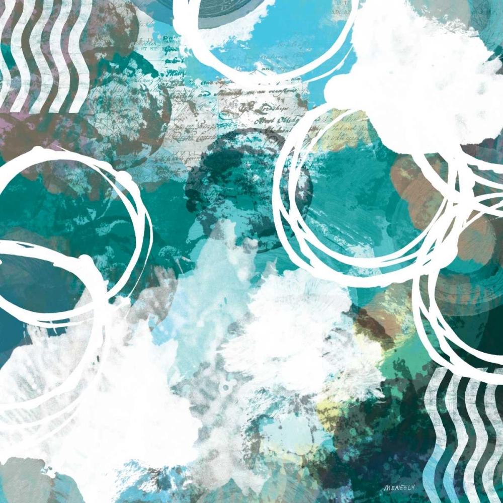 konfigurieren des Kunstdrucks in Wunschgröße Color Script I von Meneely, Dan