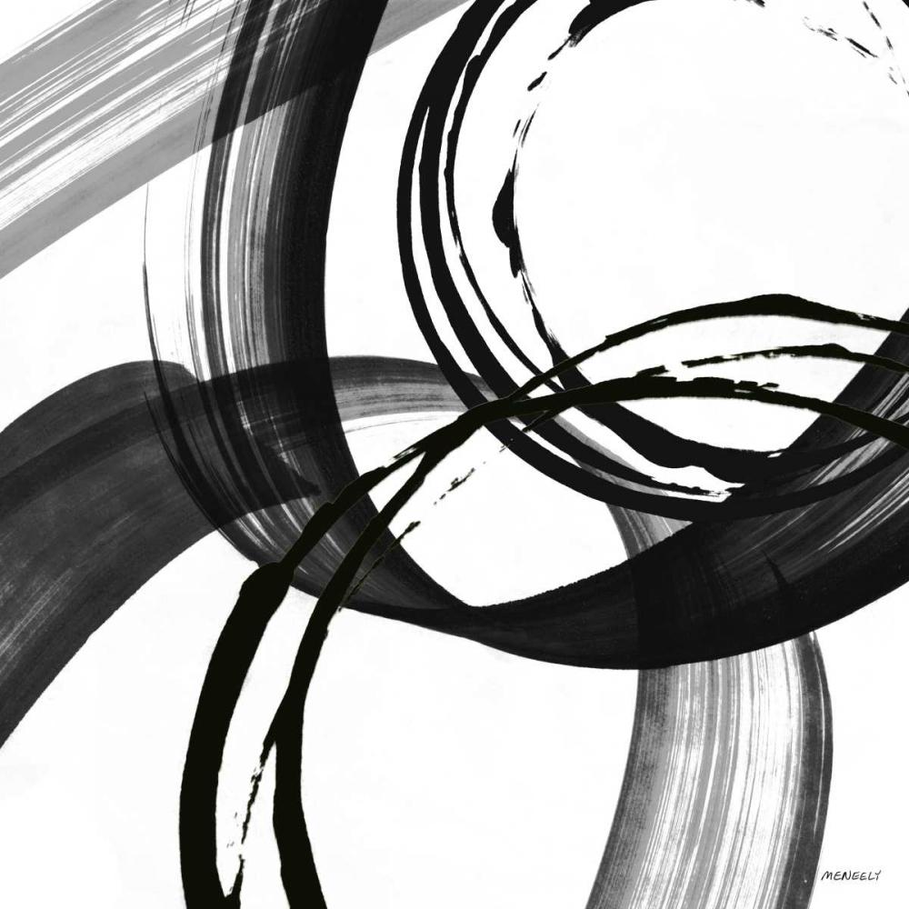 konfigurieren des Kunstdrucks in Wunschgröße Black and White Pop II von Meneely, Dan