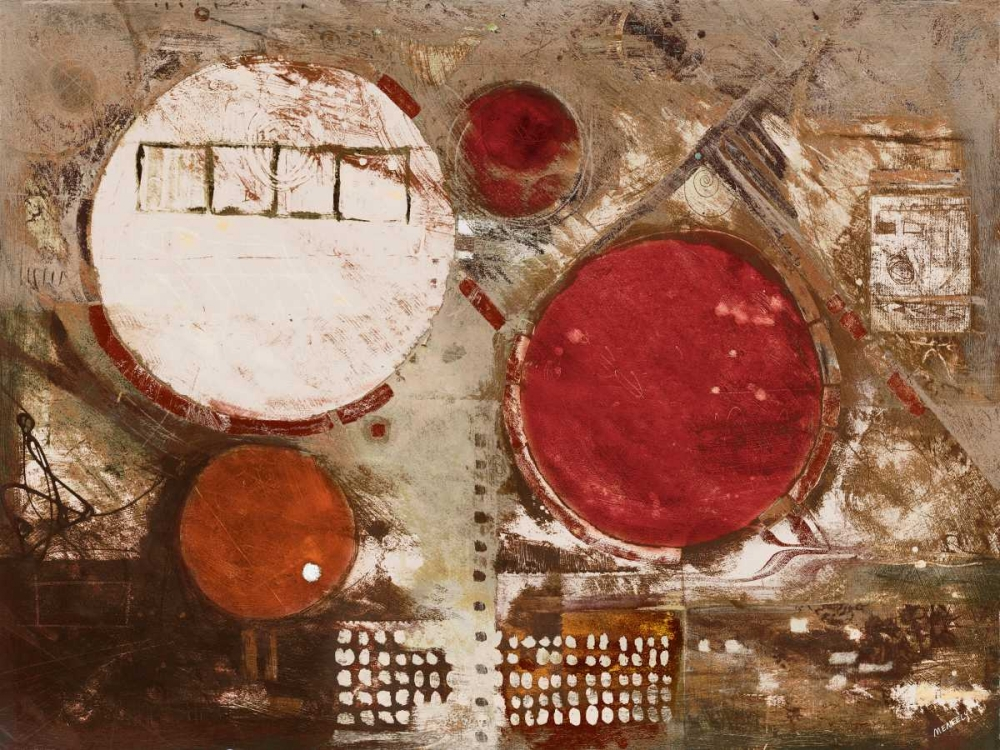 konfigurieren des Kunstdrucks in Wunschgröße Red Jester von Meneely, Dan