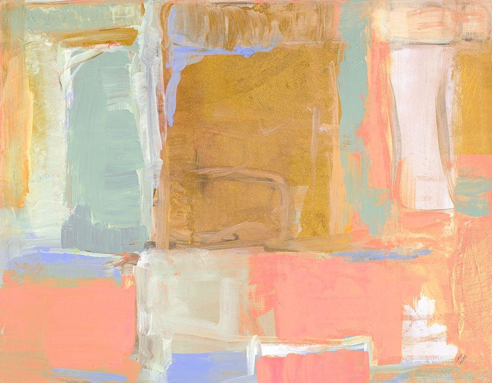 konfigurieren des Kunstdrucks in Wunschgröße Amber Gilded Oasis von Loreth, Lanie