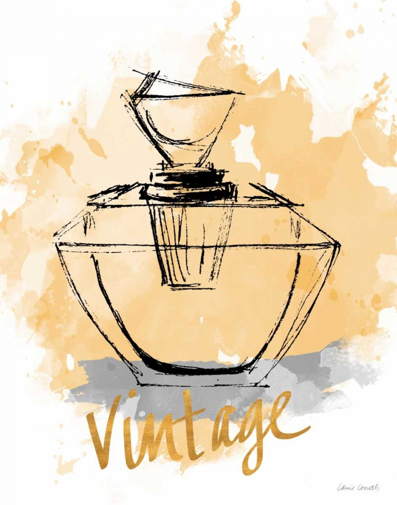 konfigurieren des Kunstdrucks in Wunschgröße Vintage Perfume von Loreth, Lanie