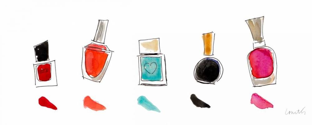 konfigurieren des Kunstdrucks in Wunschgröße Water Color Make Up Panel II von Loreth, Lanie
