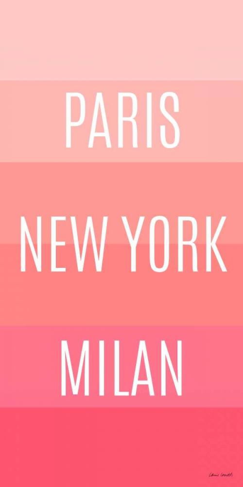 konfigurieren des Kunstdrucks in Wunschgröße Pink Travel von Loreth, Lanie