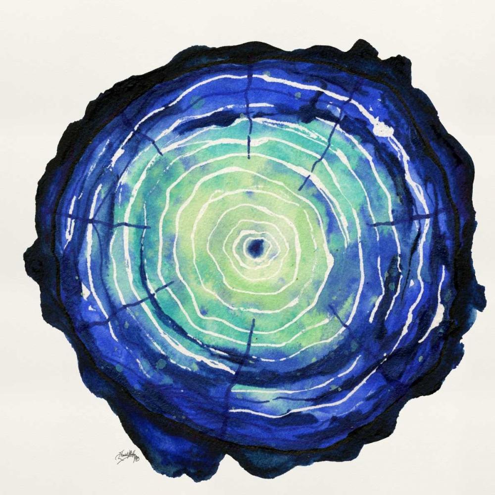 konfigurieren des Kunstdrucks in Wunschgröße Colored Tree Trunk I von Medley, Elizabeth