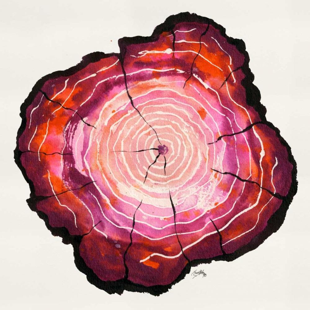konfigurieren des Kunstdrucks in Wunschgröße Colored Tree Trunk II von Medley, Elizabeth