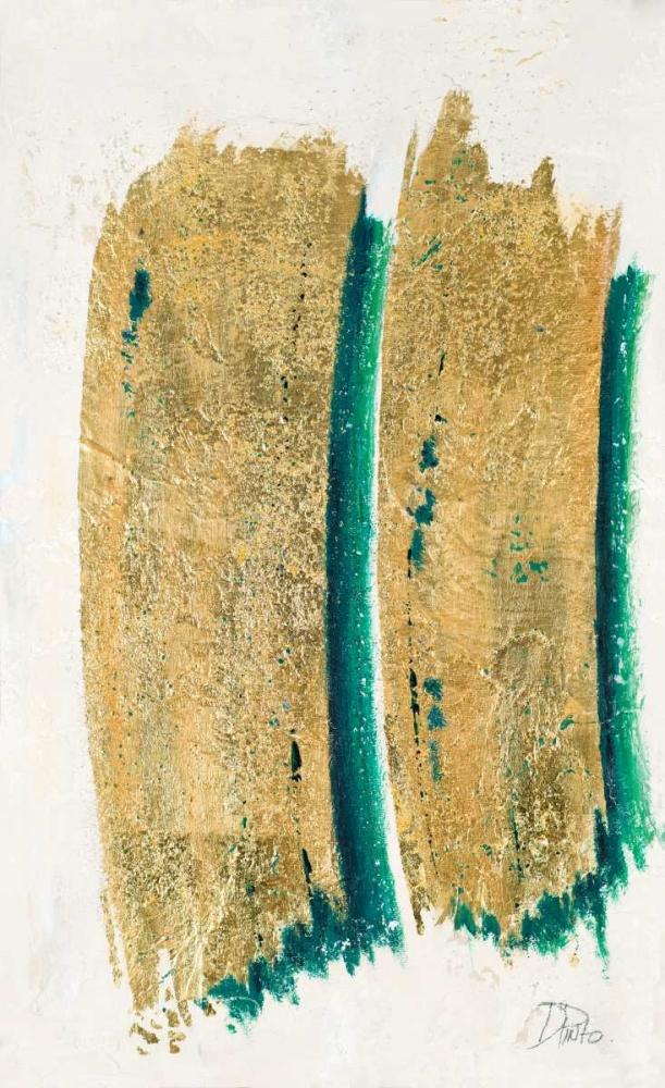 konfigurieren des Kunstdrucks in Wunschgröße On Gold I von Pinto, Patricia