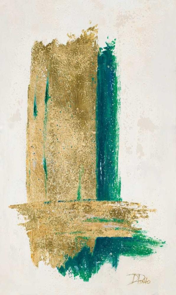 konfigurieren des Kunstdrucks in Wunschgröße On Gold II von Pinto, Patricia