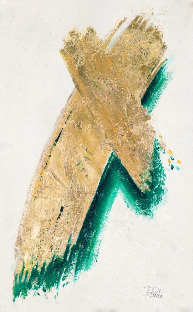 konfigurieren des Kunstdrucks in Wunschgröße On Gold III von Pinto, Patricia