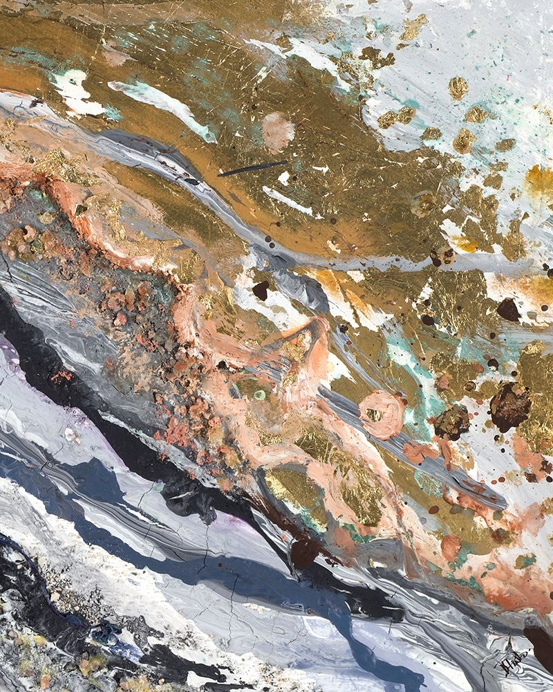 konfigurieren des Kunstdrucks in Wunschgröße Turbulence Rectangle II von Pinto, Patricia