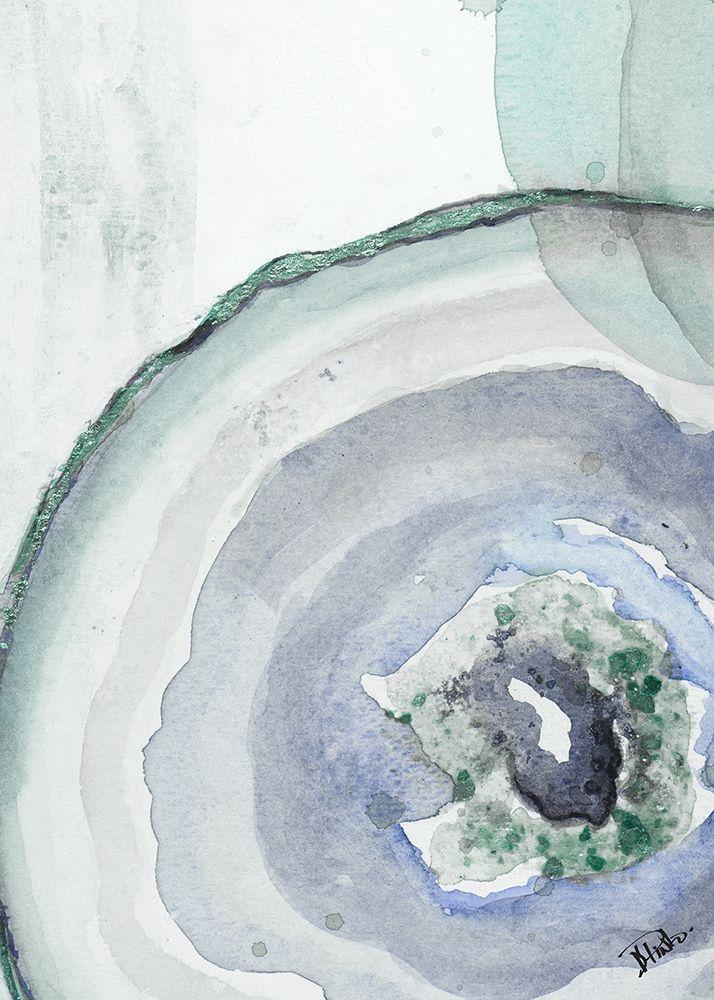 konfigurieren des Kunstdrucks in Wunschgröße Cool Agate Fragment I von Pinto, Patricia