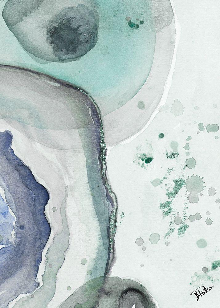 konfigurieren des Kunstdrucks in Wunschgröße Cool Agate Fragment II von Pinto, Patricia