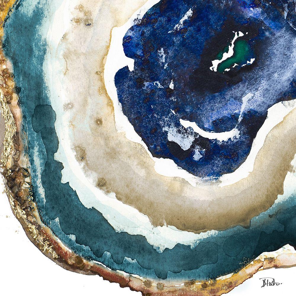 konfigurieren des Kunstdrucks in Wunschgröße Blue Agate von Pinto, Patricia