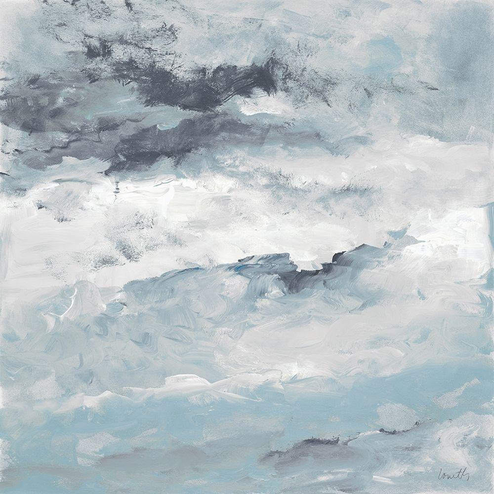 konfigurieren des Kunstdrucks in Wunschgröße Sea Meets Storm I von Loreth, Lanie
