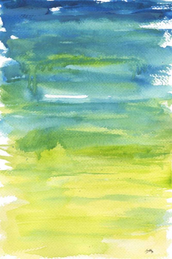 konfigurieren des Kunstdrucks in Wunschgröße Watercolor Paper II von Medley, Elizabeth