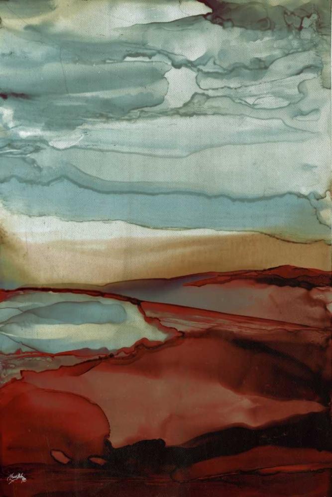 konfigurieren des Kunstdrucks in Wunschgröße New Sky von Medley, Elizabeth
