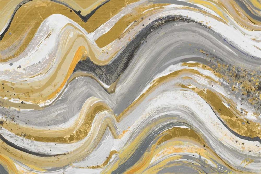 konfigurieren des Kunstdrucks in Wunschgröße New Concept Mustard Gray von Pinto, Patricia
