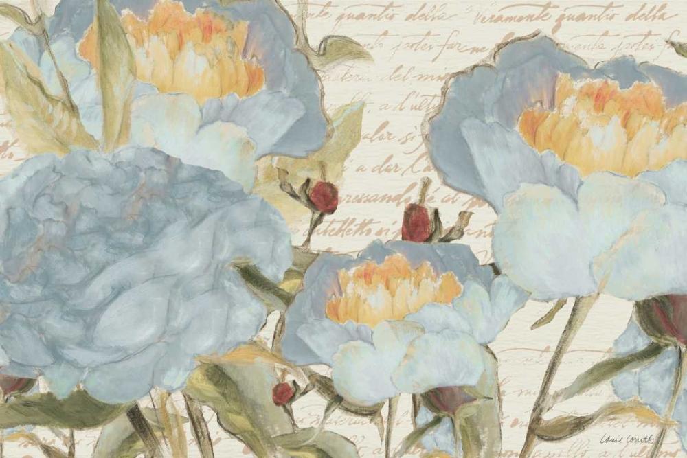 konfigurieren des Kunstdrucks in Wunschgröße Flowers in the Garden von Loreth, Lanie