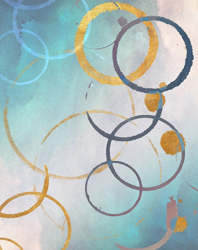 konfigurieren des Kunstdrucks in Wunschgröße Color Rings von SD Graphics Studio
