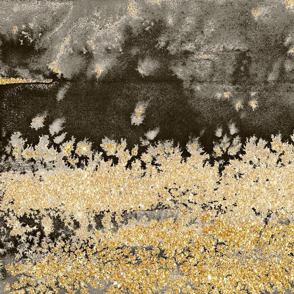 konfigurieren des Kunstdrucks in Wunschgröße Gold Winds Square I von Loreth, Lanie