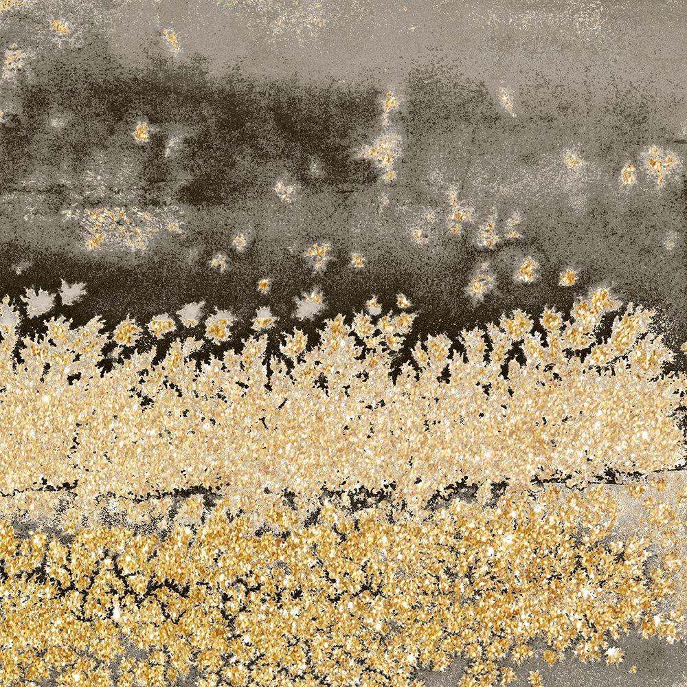 konfigurieren des Kunstdrucks in Wunschgröße Gold Winds Square II von Loreth, Lanie