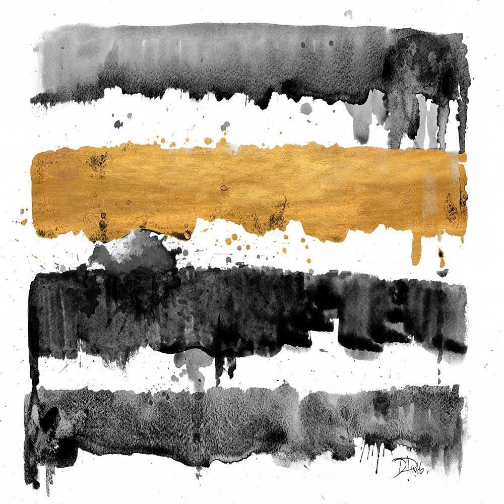 konfigurieren des Kunstdrucks in Wunschgröße Dripping Gold von Pinto, Patricia