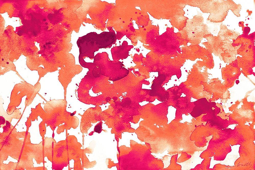 konfigurieren des Kunstdrucks in Wunschgröße Splash of Pinks In Fall II von Loreth, Lanie
