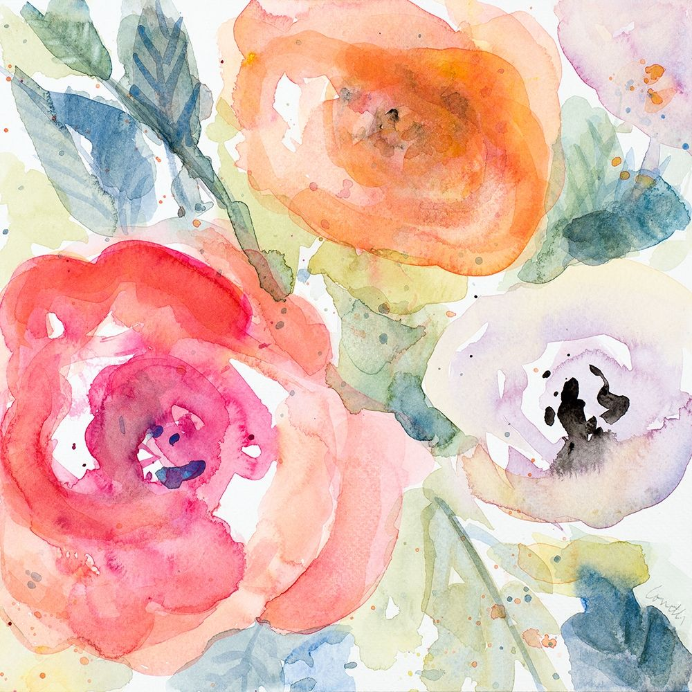 konfigurieren des Kunstdrucks in Wunschgröße Blooms Abound I von Loreth, Lanie