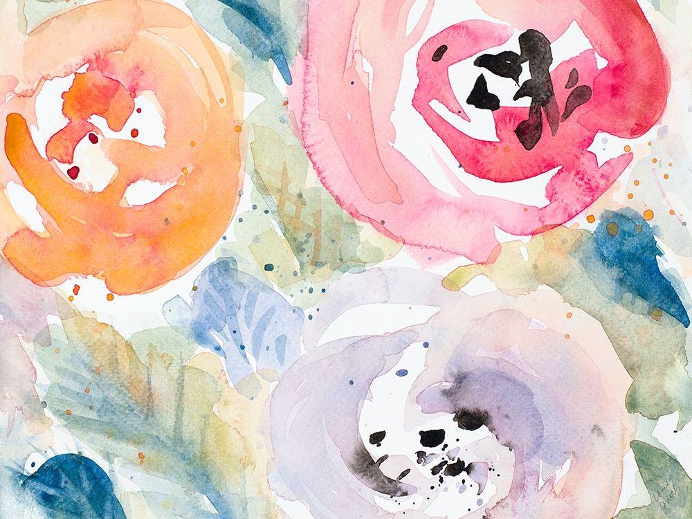 konfigurieren des Kunstdrucks in Wunschgröße Blooms Abound Rectangle von Loreth, Lanie