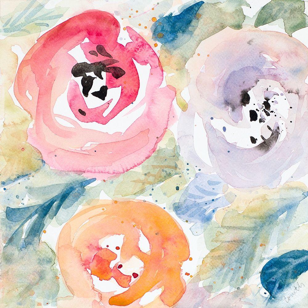 konfigurieren des Kunstdrucks in Wunschgröße Blooms Abound II von Loreth, Lanie
