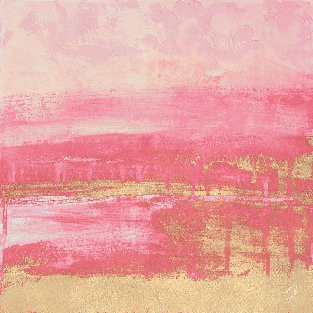konfigurieren des Kunstdrucks in Wunschgröße Rose Gold Abstract von Loreth, Lanie