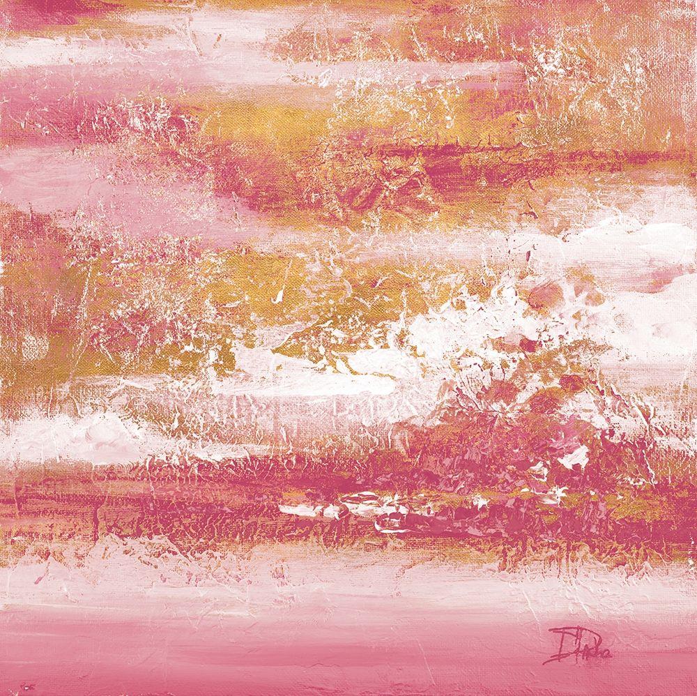 konfigurieren des Kunstdrucks in Wunschgröße Unpredictable Pinks and Gold von Pinto, Patricia