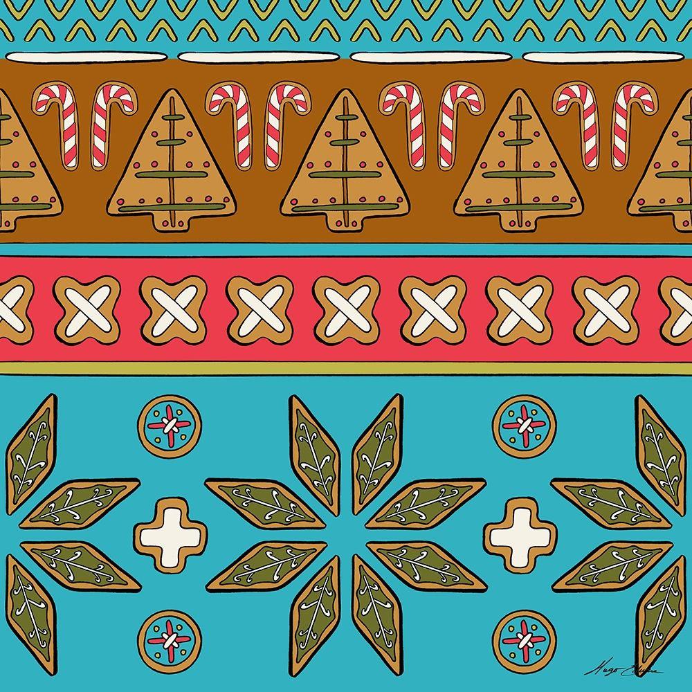 konfigurieren des Kunstdrucks in Wunschgröße Christmas Cookie Sweater I von Edwins, Hugo