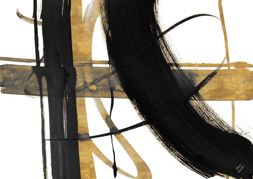 konfigurieren des Kunstdrucks in Wunschgröße Urban Vibe with Gold I von Loreth, Lanie