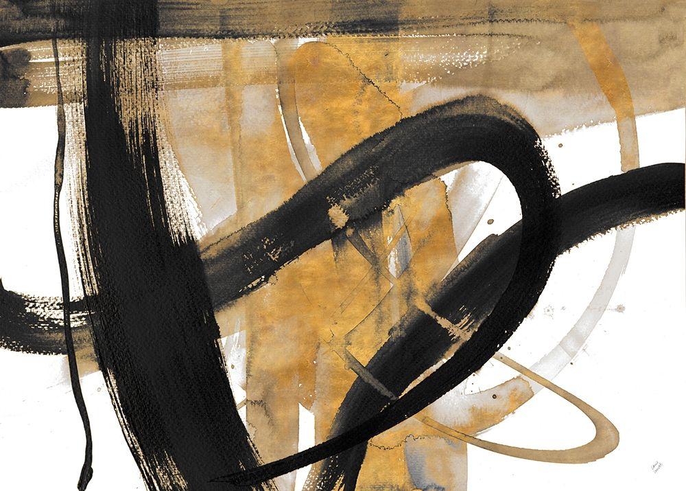konfigurieren des Kunstdrucks in Wunschgröße Urban Vibe With Gold II von Loreth, Lanie