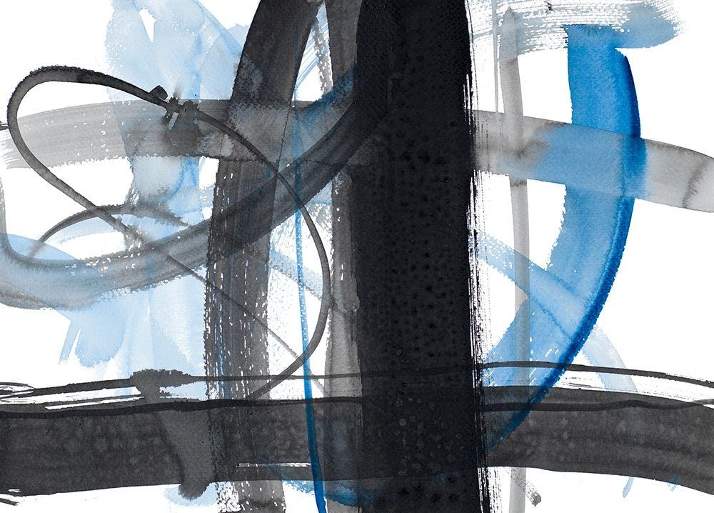 konfigurieren des Kunstdrucks in Wunschgröße Urban Vibe With Blue II von Loreth, Lanie