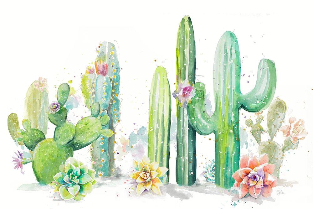 konfigurieren des Kunstdrucks in Wunschgröße Cactus Garden von Pinto, Patricia