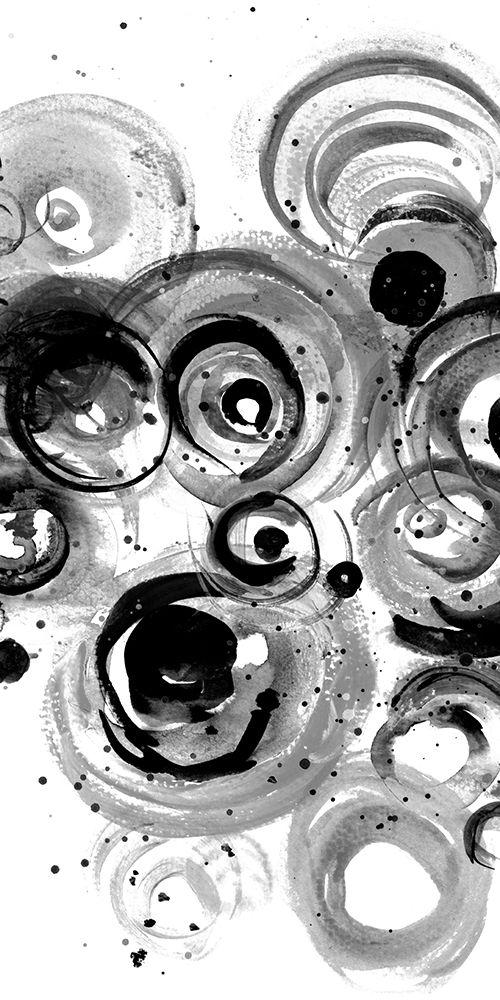 konfigurieren des Kunstdrucks in Wunschgröße BW Circulation I von Pinto, Patricia