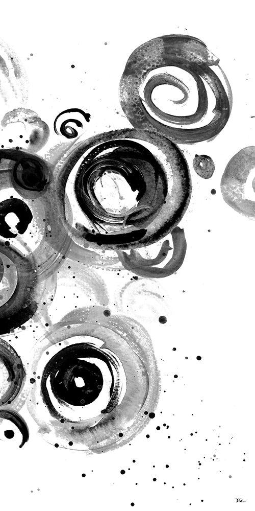 konfigurieren des Kunstdrucks in Wunschgröße BW Circulation II von Pinto, Patricia